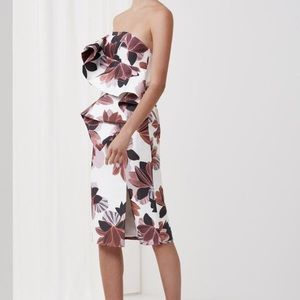 Keepsake Awake Floral Dress